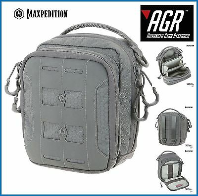 Maxpedition Advanced Gear Research  AUP Accordion Utility Organiser Pouch Gray