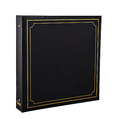 Large 6x4 Photo Album for 500 Photo's - Black Soft Padded Cover - AL-9174