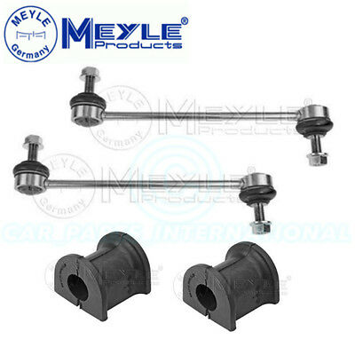 MEYLE HD Front Stabilizer Links & Bushes 1160600024/HD x2 & 1006150006 x2