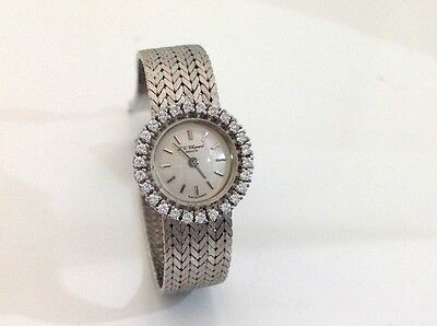 Chopard Vintage Diamant Brillant Damenuhr - lady diamond wristwatch