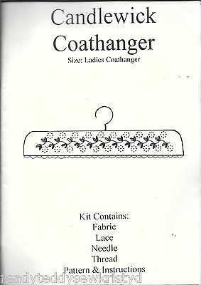 Candlewick ladies caothanger sewing craft kit c.2004 pattern instructions fabric