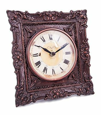 """""""Thurnford Hall"""" Antique Ornate Table Clock Or Desk Clock"""