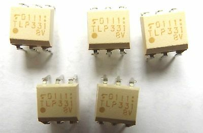 TLP331BV TLP331  Optocoupler DC-IN 1-CH Transistor With Base DC-OUT DIP-6  x5pcs
