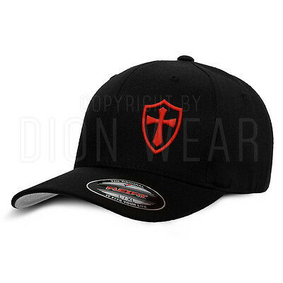 Crusader Knights Templar Crusaders Cross Jesus Hat Small Medium Large XL