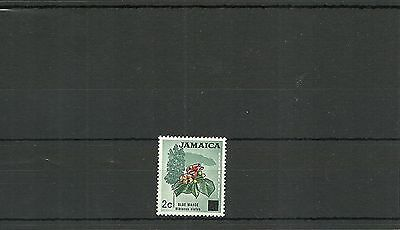 Jamaica Sg306 1970 Surcharged Stamp Mnh