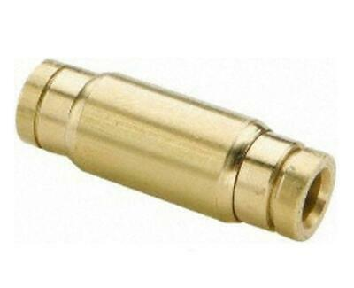 """Parker Metal 3/8"""" Brass Push-To-Connect Tube Fittings 62PMT-6 *NEW & FREE SHIP*"""