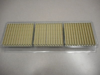 Erni Electronics 593934 Connector Header 64-Pin Male Straight 2-Row (Lot Of 36)