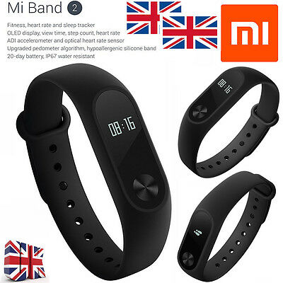 2017 Original Xiaomi Mi Band2 Miband Wristband Bracelet OLED for APPLE & Android