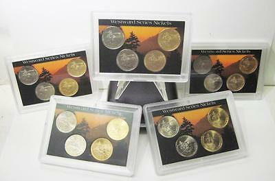 Lot Of 5 Westward Series 2005 Lewis And Clark Nickeles Sealed