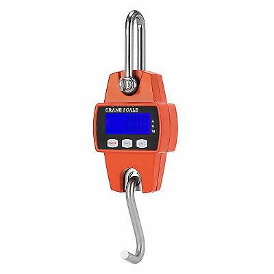 New Mini Crane Scale 300kg 0.1kg LCD Digital Electronic Hook Hanging Weight Au