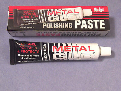 METAL GLO Professional Polishing Paste UC2723 for knives, jewelry and more!