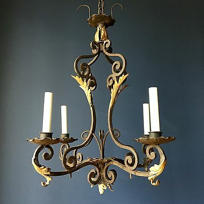 Iron Chandelier 4 Light