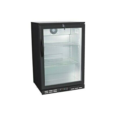 "24"" Single Door Glass Back Bar Beverage Cooler ( Free Shipping )"
