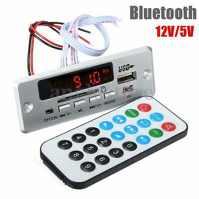12V LED Digital Verstärker Amplifier Auto Bluetooth MP3 Decode Board SD USB FM