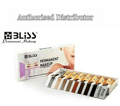 Microblading Pigments,  Bliss Semi Permanent Makeup Cosmetic Ink Spmu Pigments