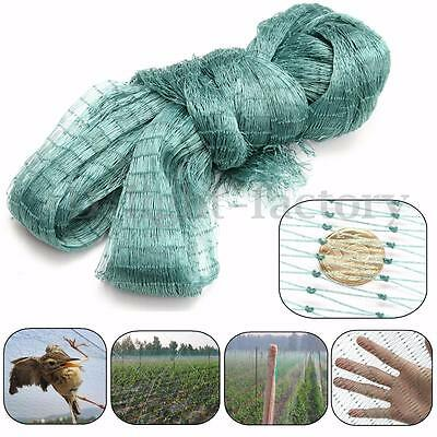 4M WIDE ANTI BIRD NETTING Net Mesh Vegs Crops Plant Fruit Protection Pond Garden