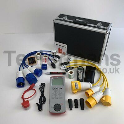 Seaward Primetest 100 PAT Tester KIT60 Plus Extra Accessories and Adaptor Set