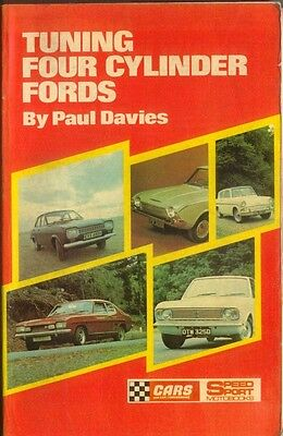 Tuning Four Cylinder Fords by Paul Davies SpeedSport pub. 1971