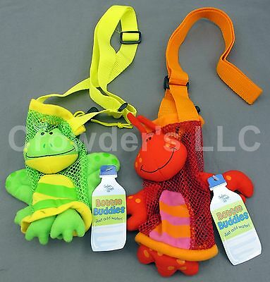 Lobster & Frog Bottle Buddy by Stephen Joseph Gifts Water Bottle Holders