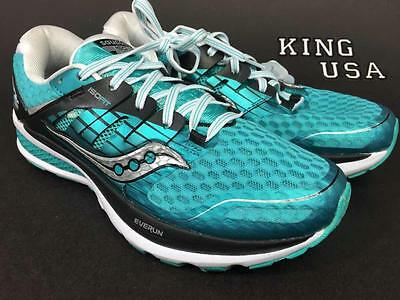 Women's Saucony Triumph ISO 2  Running Athletic Shoes Teal