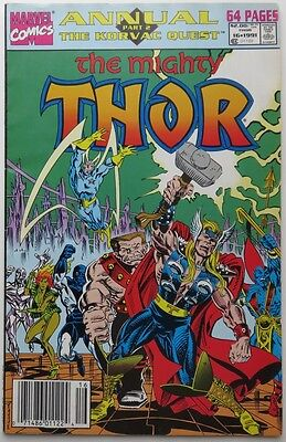 1991  The Mighty Thor Annual  #16   -   F                       (Inv11334)