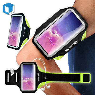 Samsung Galaxy Note 5/4 S9/8/7 Plus/Edge Running Sport Armband Case Holder Pouch