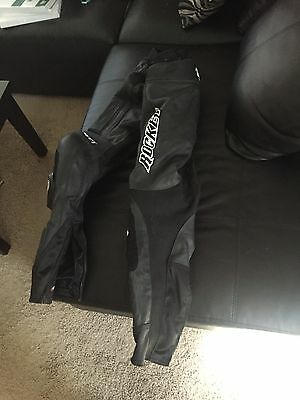 Joe Rocket 2 piece leather/zip together leather racing suit