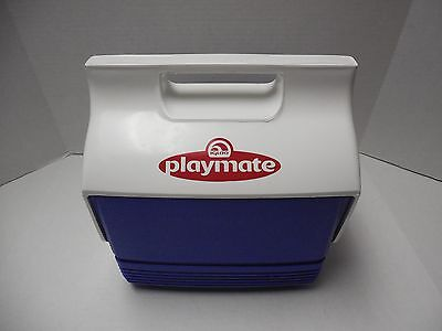 Playmate by Igloo Push Button Lunch Cooler Blue/White