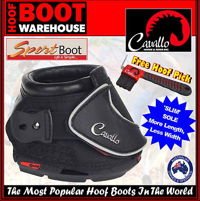 Cavallo 'SPORT' SLIM SOLE Hoof Boots (Pair)  -  Horse. Hoof Protection, Comfort
