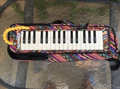 Hohner AirBoard 32-Key Melodica W/ Carry Bag used excellent (BB)