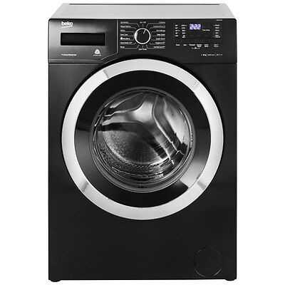 Beko WR862441B A+++ 8Kg 1600 Spin Washing Machine Black New from AO