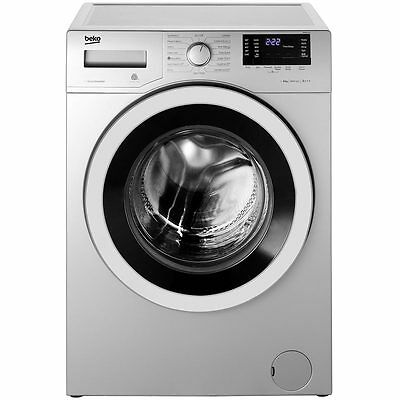 Beko WR862441S A+++ 8Kg 1600 Spin Washing Machine Silver New from AO