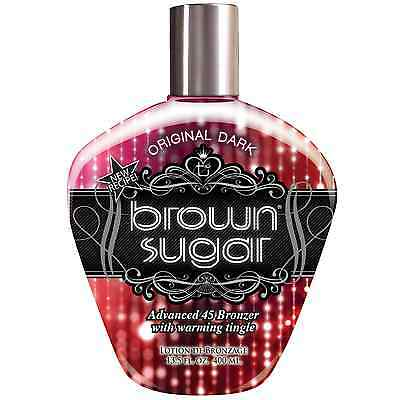 Brown Sugar ORIGINAL DARK Sunbed Tanning Bronzer Lotion, Cream, Bottle 400ml