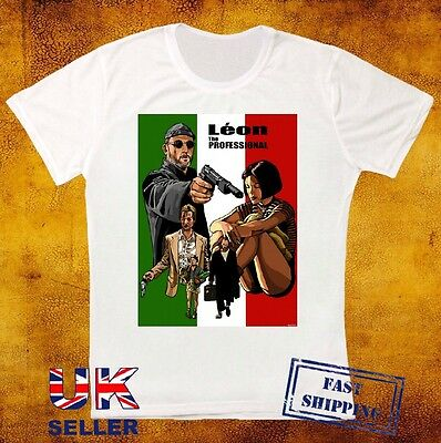 Leon The Professional Stansfield Mathilda Jean Reno Movie Art UNISEX T Shirt 491