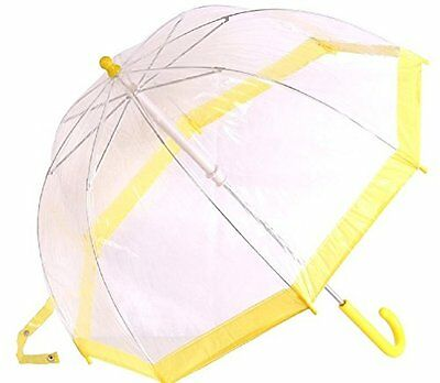 AimTrend Kids Umbrella Childrens Bubble Yellow