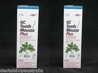 GC Tooth Mousse  Plus Twin Pack
