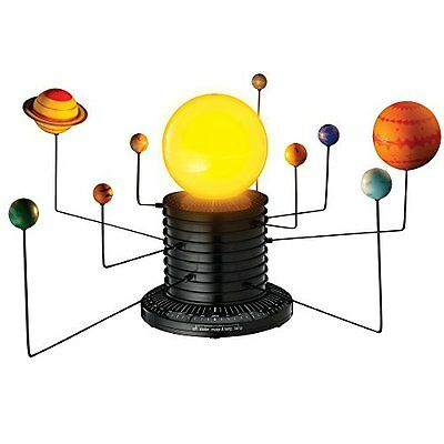 Educational Science Motorized Solar System Earth Planets Astronomy Sun Model