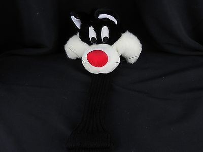 Sylvester the Cat Golf Club Cover Looney Tunes Warner Bros Plush A-20