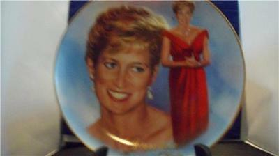 """Princess Diana Bradford Exchange """"Forever, Diana"""" A Woman of Style Pre-owned"""