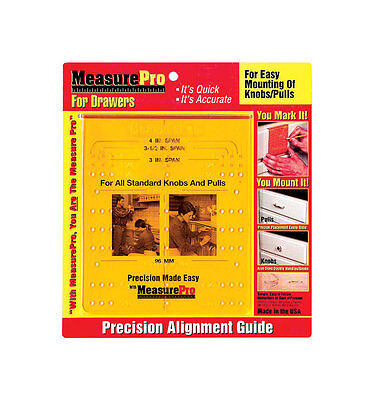 """NEW! MEASURE PRO Installation Guide For Drawers 3""""  46970"""