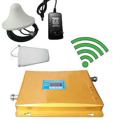 Dual Band 900-2100MHz 3G LCD Display Cell Phone Signal Booster/Repeater 900mH