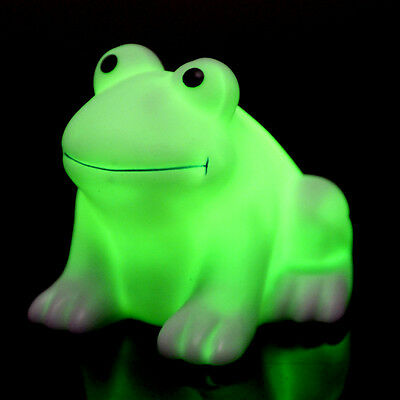 Colorful Changing LED Night Lights Lamp Frog shaped Nightlight Party Decor