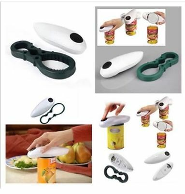 One Touch Jar Can Bottle Opener Automatic Electric Hands Free Operation Kitchen