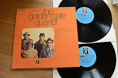 the best of THE GOLDEN GATE QUARTET 2LP EMI Columbia C148-11743/744