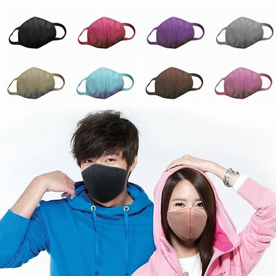 Fashion Unisex Mouth Face Mask Health Anti-Dust Cotton Cycling Sports Respirator