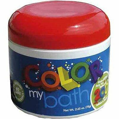 Color My Bath Tablets 200 Pack by Toysmith, Make Bath Time Fun (1801) NEW
