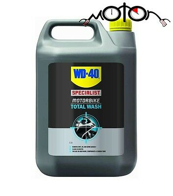 Wd-40 Specialist Motorbike Motorcycle Mx Moto-X Car Total Wash Cleaner - 5 Litre