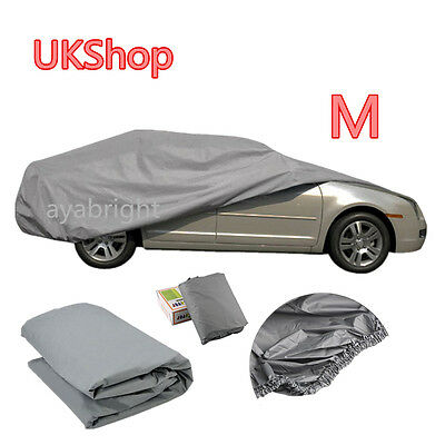 New Universal Size S/M Full Car Cover UV Protection Waterproof Breathable AYA