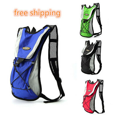 2L Hydration Bladder Bag Hiking Camping Backpack Water Drinking Pouch Sports AYA