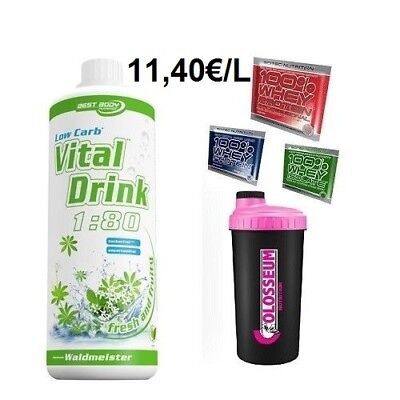 Best Body Low Carb Vital Drink - 1L + GRATIS Bonus